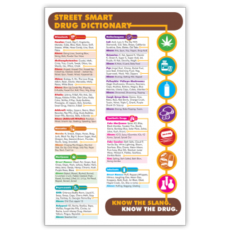 Street Smart Dictionary Poster