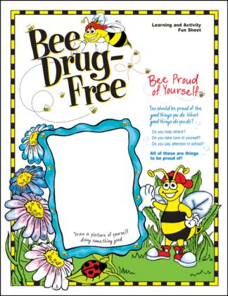 """'Bee' Drug-Free"" Activity Sheet"
