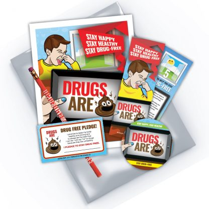 """Drugs are💩"" Emoji KidPak"