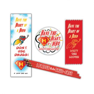 """Heart of a Hero"" Ribbon MiniPak"