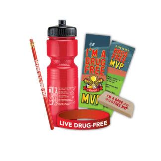 """""""I'm a Drug-Free MVP"""" BottlePak"""