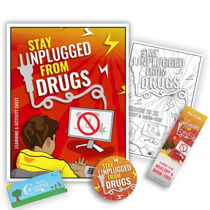 """Stay Unplugged from Drugs"" KidPak"