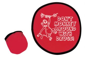 """Don't Monkey Around with Drugs"" Flexible Flyers"