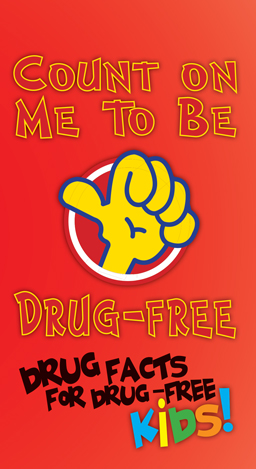 """Count on Me to be Drug-Free"" Trifold"