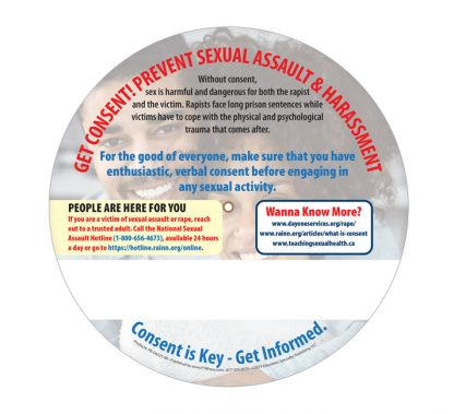 """What is Consent?"" Information Wheel (back)"
