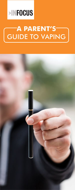 A Parent's Guide to Vaping Pamphlet