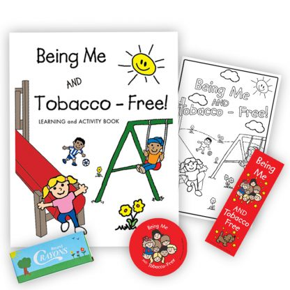 """""""Being Me and Tobacco-Free!"""" KidPak"""