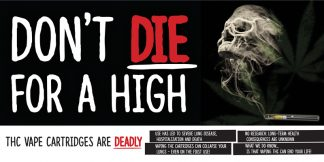 """Don't Die for a High"" Banner"