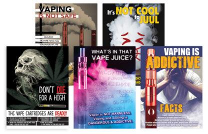 Vaping Prevention Poster Package