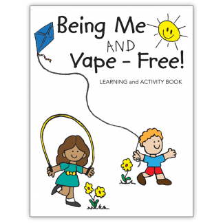 """""""Being Me and Vape-Free!"""" Activity Book"""