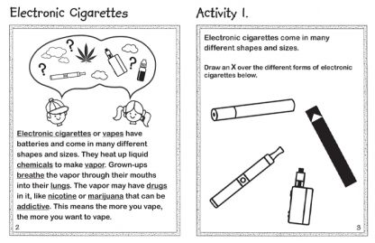 Being Me and Vape-Free! Activity Book (Inside Preview)
