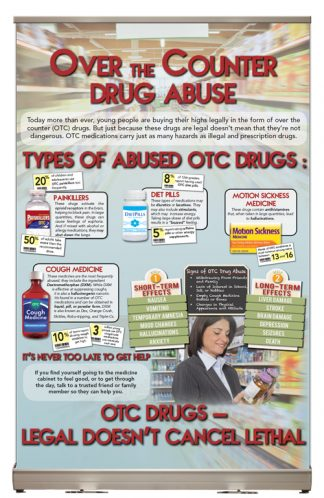 In the Know: Over the Counter Drug Abuse – Tabletop Display