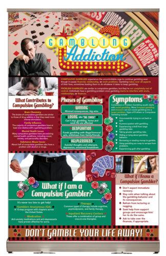 Gambling Addiction Tabletop Display