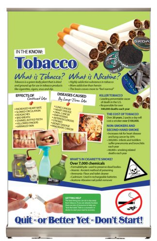In The Know: Tobacco Tabletop Display
