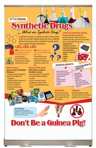 In The Know: Synthetic Drugs Tabletop Display