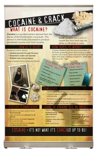 In the Know: Cocaine and Crack Tabletop Display