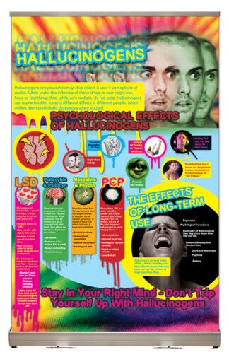 Hallucinogens Tabletop Display