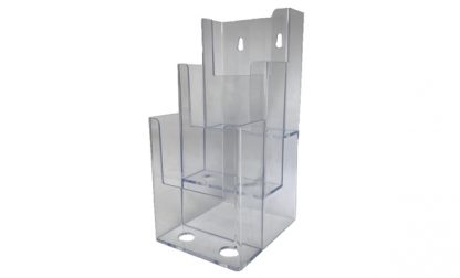 Information Center Acrylic Holder (3 Compartment)