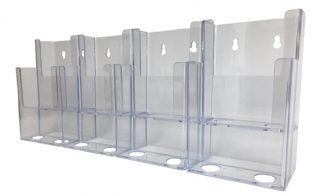 Information Center Acrylic Holder (8 Compartment)