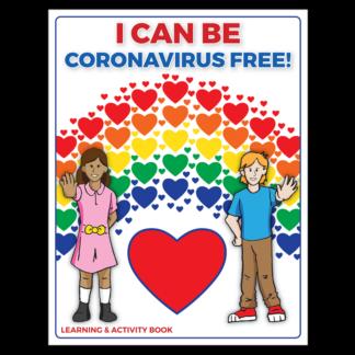 """I Can Be Coronavirus Free!"" Learning & Activity Book"