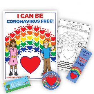 """I Can Be Coronavirus Free!"" KidPak"
