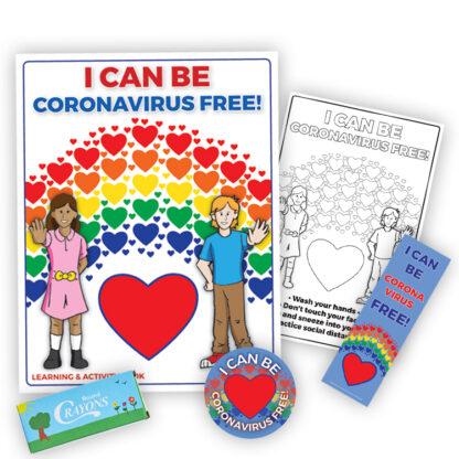 """I Can Be Coronavirus Free!"" KidPak"