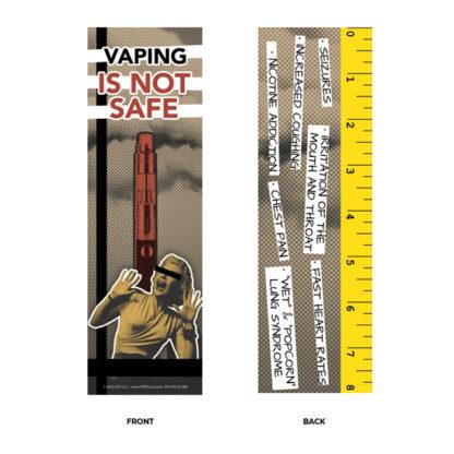 vaping prevention bookmark