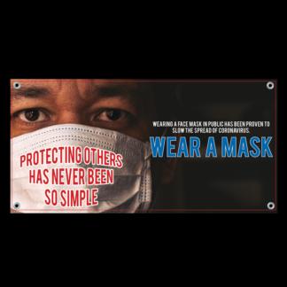 COVID-19: Wear Face Masks Banner (Adult)