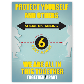 COVID-19: Social Distancing Poster (Children)