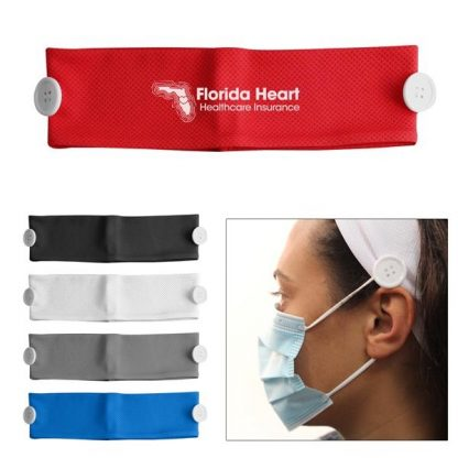 Custom Cooling Headband Face Mask Holder