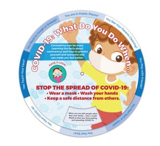 COVID-19: What Do You Do When... Information Wheel