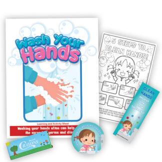 """""""Wash Your Hands"""" KidPak"""