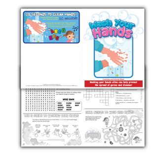 """Wash Your Hands"" Learning and Activity Sheet"