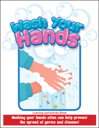 """""""Wash Your Hands"""" Activity Sheet"""