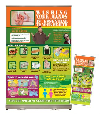 Washing Your Hands Tabletop Display Package