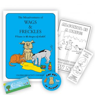 The Misadventures of Wags & Freckles KidPak