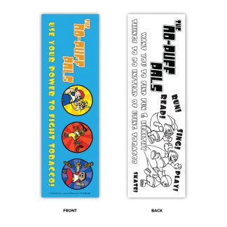 The No-Puff Pals Bookmark