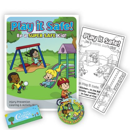 """Play it Safe: Be A Super Safe Kid!"" KidPak"