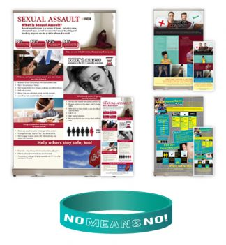 Sexual Assault Tabletop Display Package