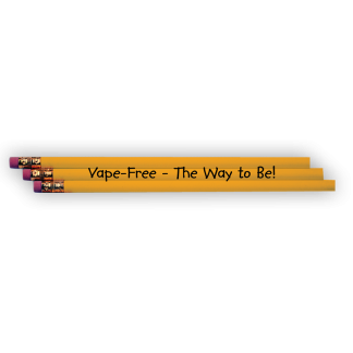 """""""Vape Free – The Way to Be!"""" Pencil"""