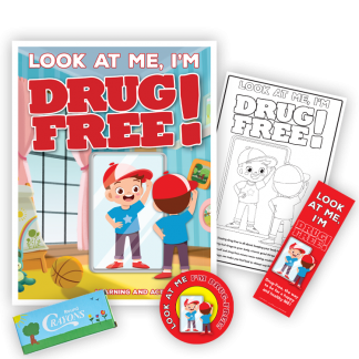 """Look at Me, I'm Drug Free!"" KidPak"