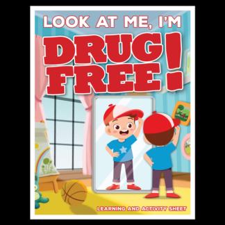 """Look at Me, I'm Drug Free!"" Activity Sheet"