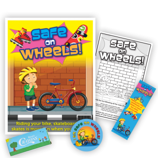 """Safe on Wheels!"" KidPak"