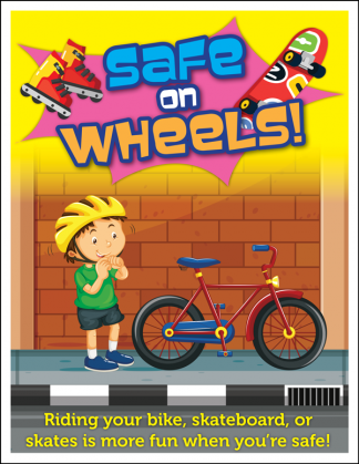 """Safe on Wheels!"" Activity Sheet"