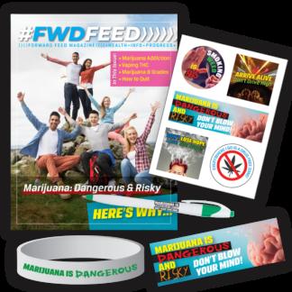 """""""Marijuana: Dangerous & Risky"""" FWDPak"""