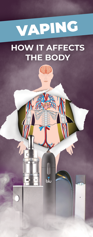 Vaping: How it Affects the Body Pamphlet