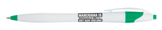 """Marijuana is Dangerous and Risky - Don't Blow Your Mind!"" Pen"