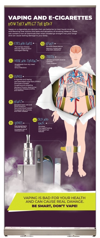 Vaping: How it Affects the Body Presentation Display