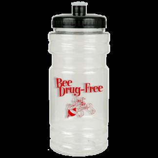 """'Bee' Drug-Free"" Sports Bottle"