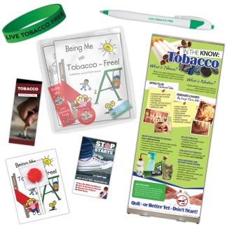 Great American Smokeout Tobacco Prevention Package